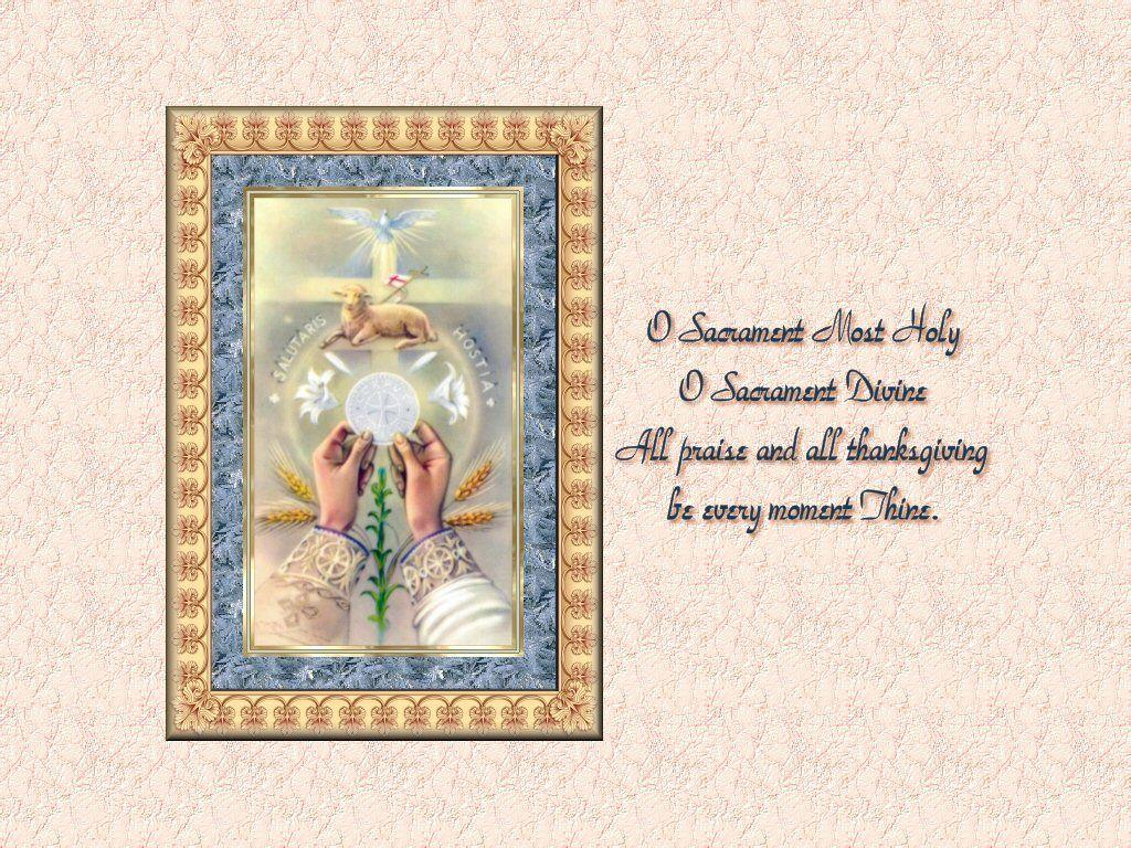 Image For > Catholic Eucharist Wallpapers