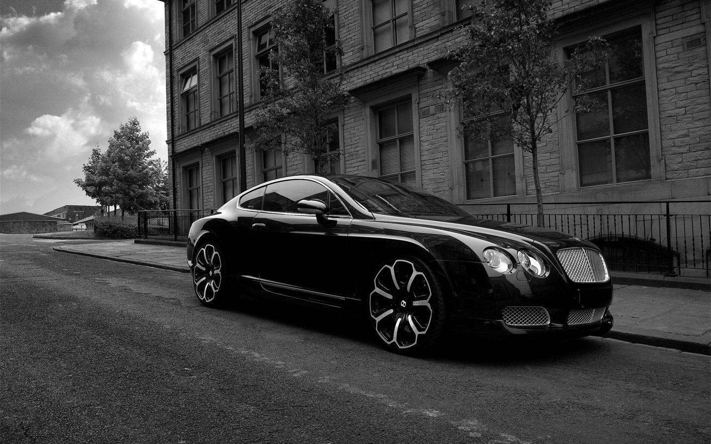 Bently wallpapers wallpaper cave - Car wallpaper black and white ...
