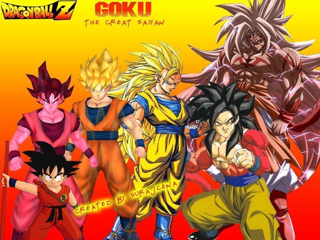 Goku Ssj5 Wallpapers Wallpaper Cave