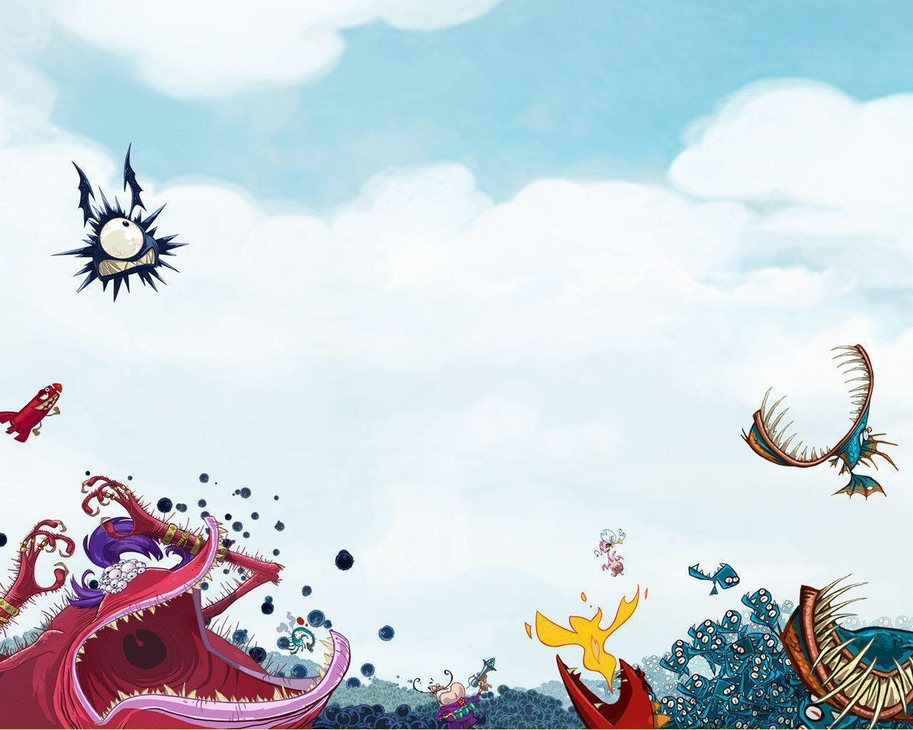 Rayman Origins Wallpapers by Amkitsune