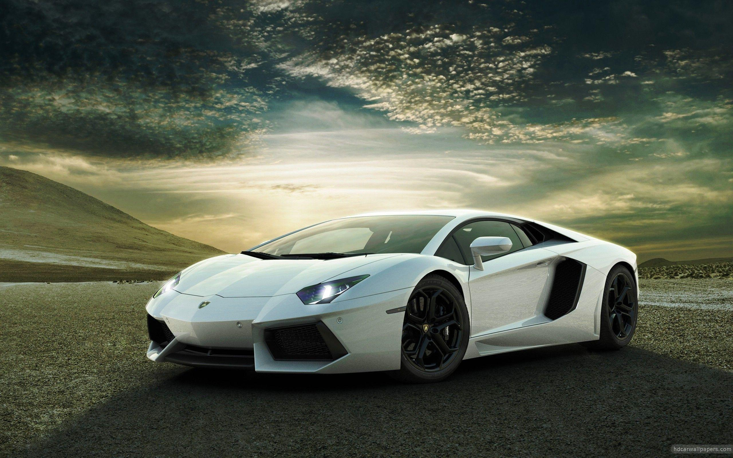 Lamborghini Aventador High Resolution Wallpaper