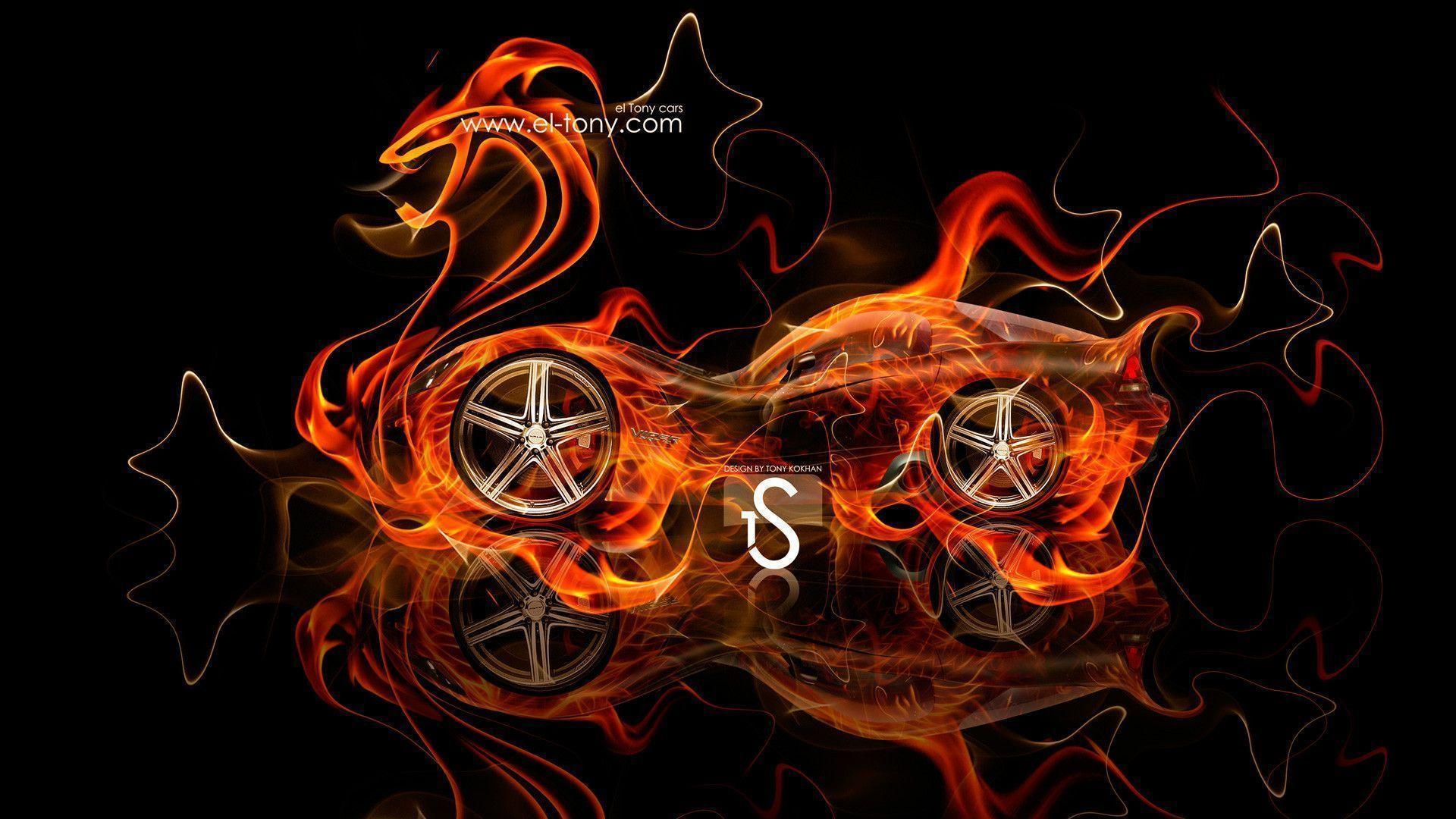 Nice Dodge Viper SRT/10 Fantasy Fire Snake Car 2013 « El Tony Amazing Pictures