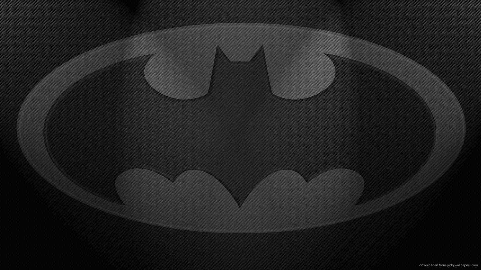 download 1920x1080 batman gray logo wallpaper
