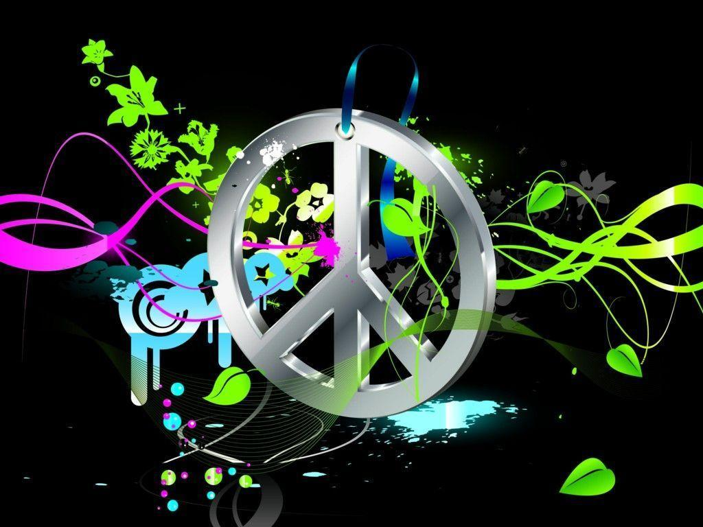 background designs peace sign - photo #21