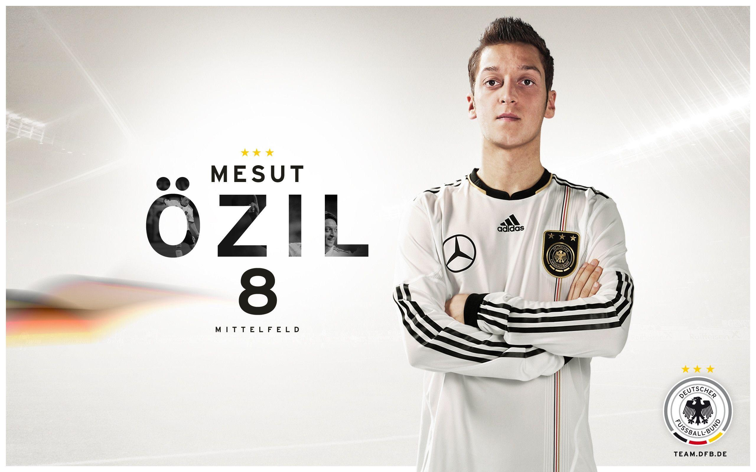 Mesut Ozil Germany Exclusive HD Wallpapers