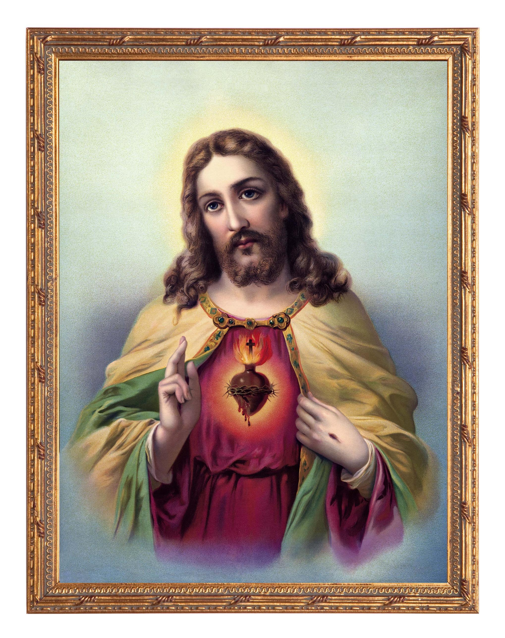 Image For > Sacred Heart Of Jesus