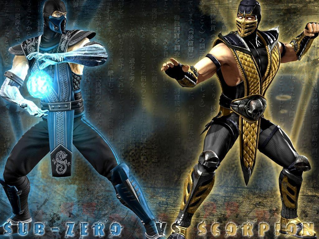 Mortal Kombat Wallpapers Scorpion And Sub Zero 43743 HD Pictures