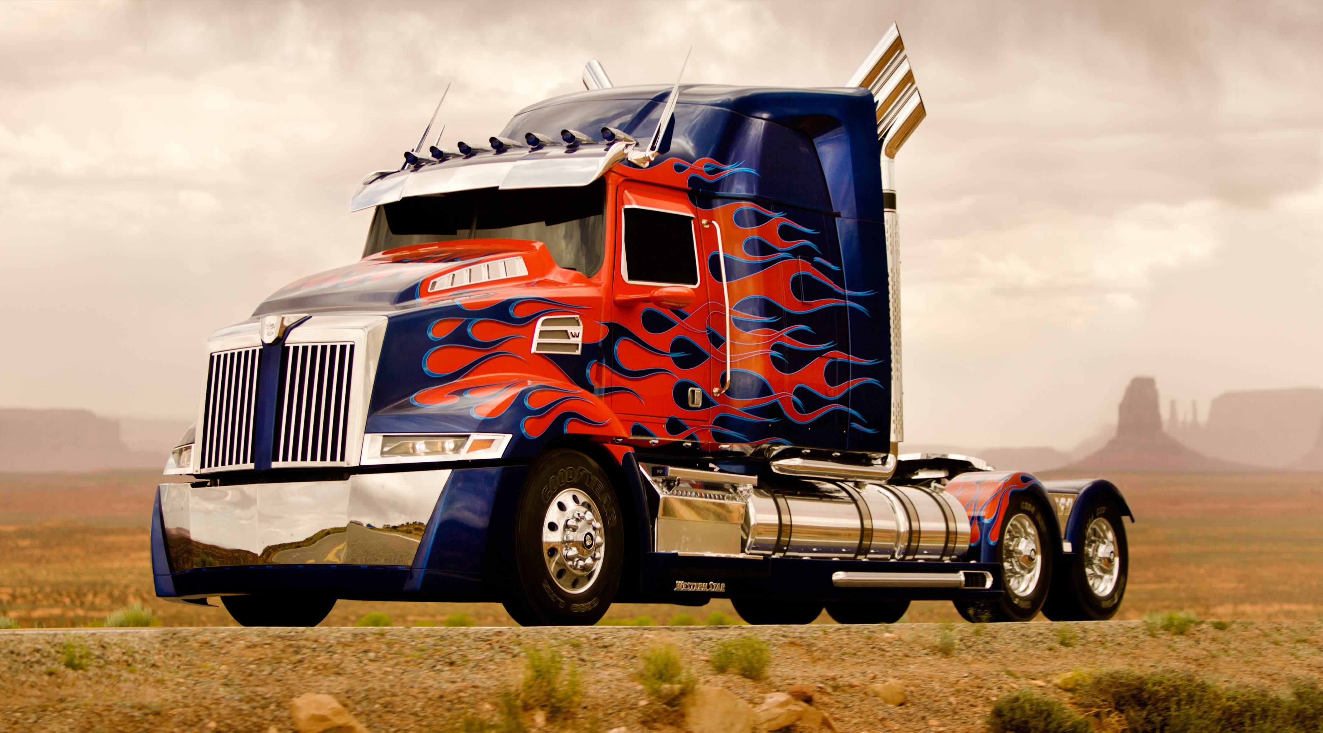 optimus prime truck wallpapers wallpaper cave