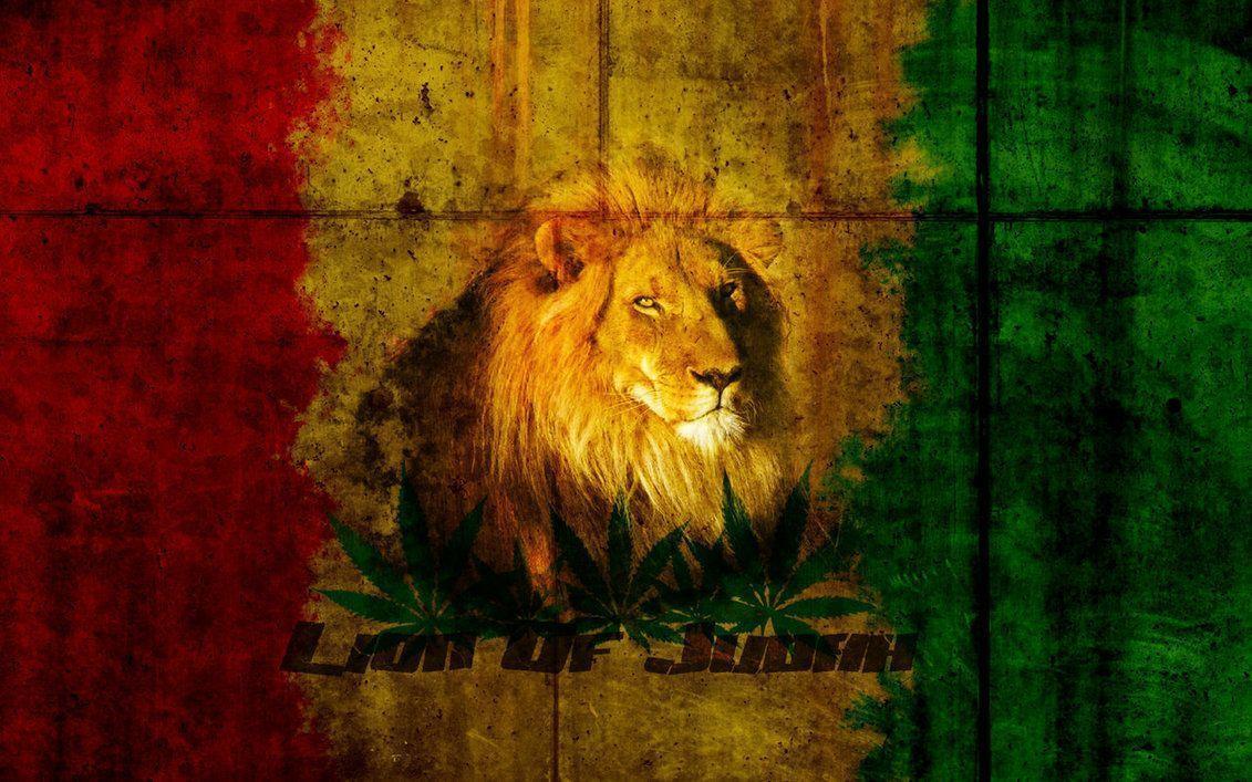 Lion Of Judah Wallpapers - Wallpaper Cave Rasta Lion Wallpapers