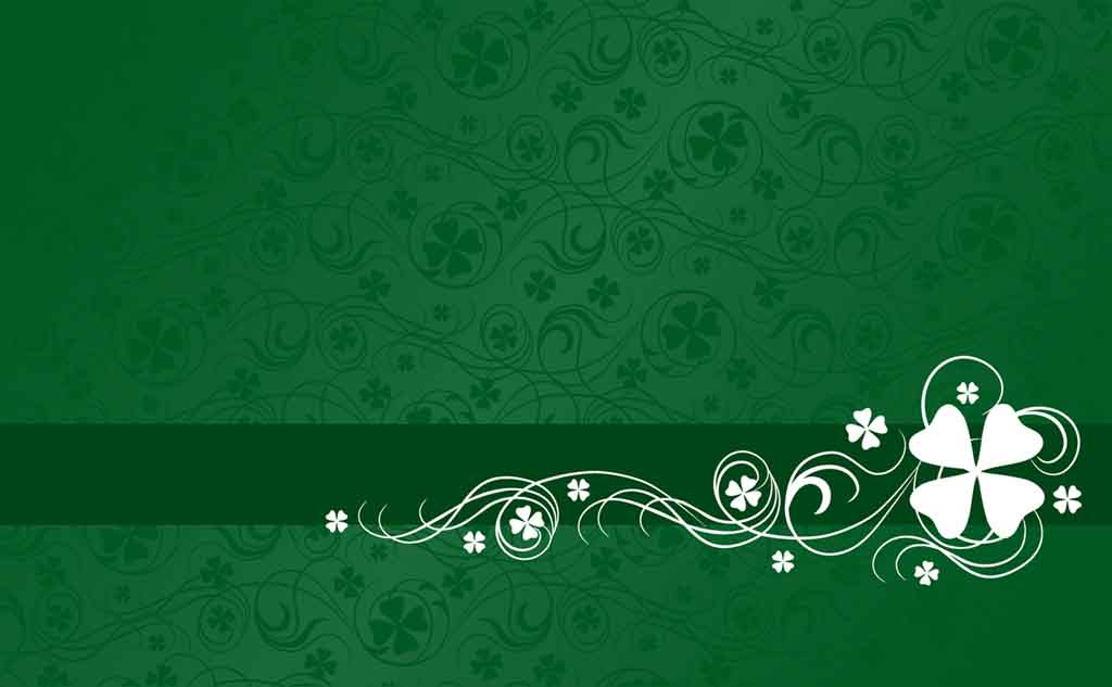 Shamrock Abstract Pattern Backgrounds For Powerpoint Presentations