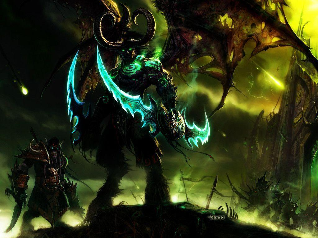 Image For > Illidan Stormrage Wallpapers