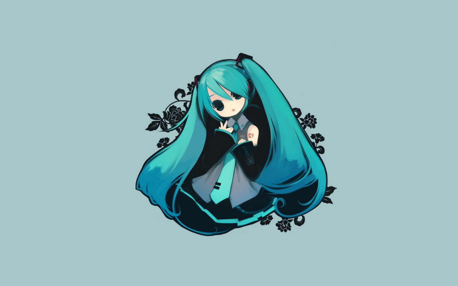 Anime chibi vocaloid wallpapers