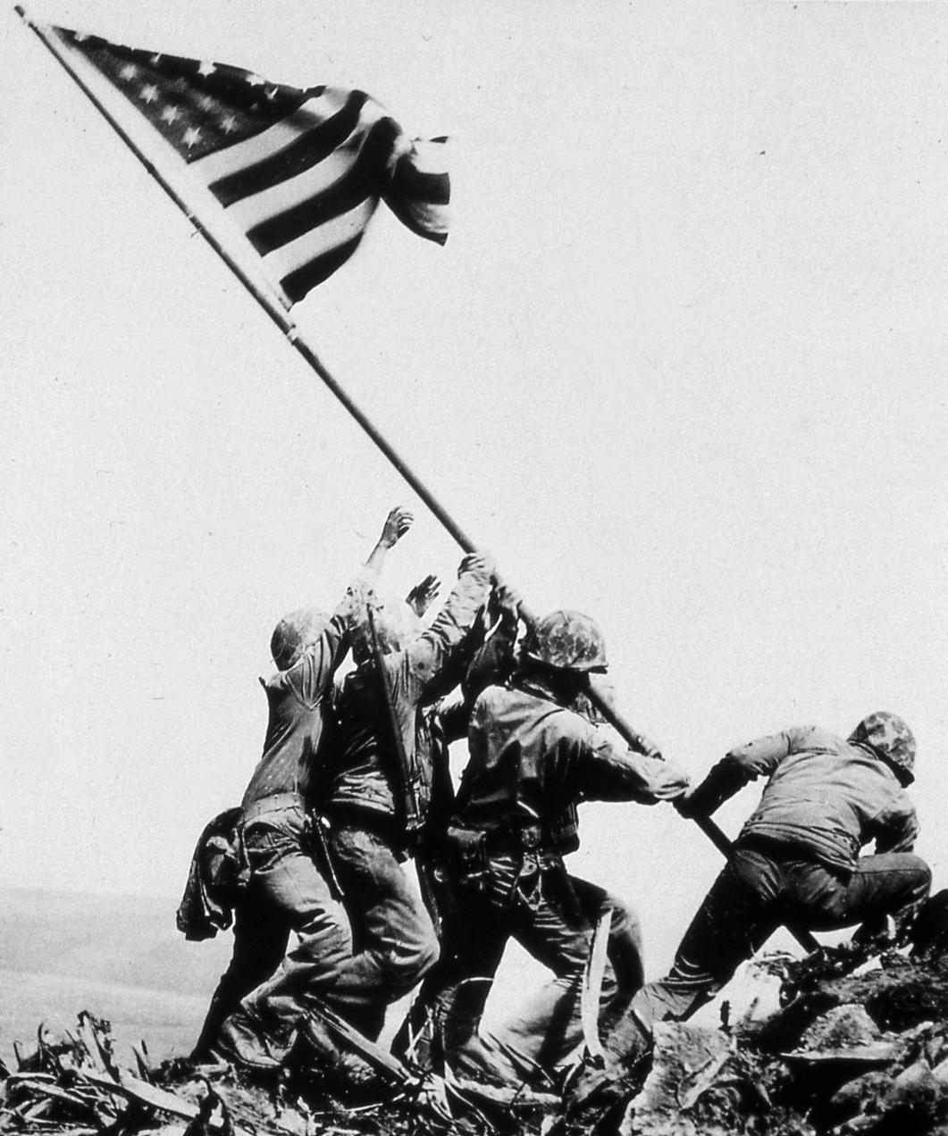 Iwo Jima Flag Raising Wallpaper - Viewing Gallery