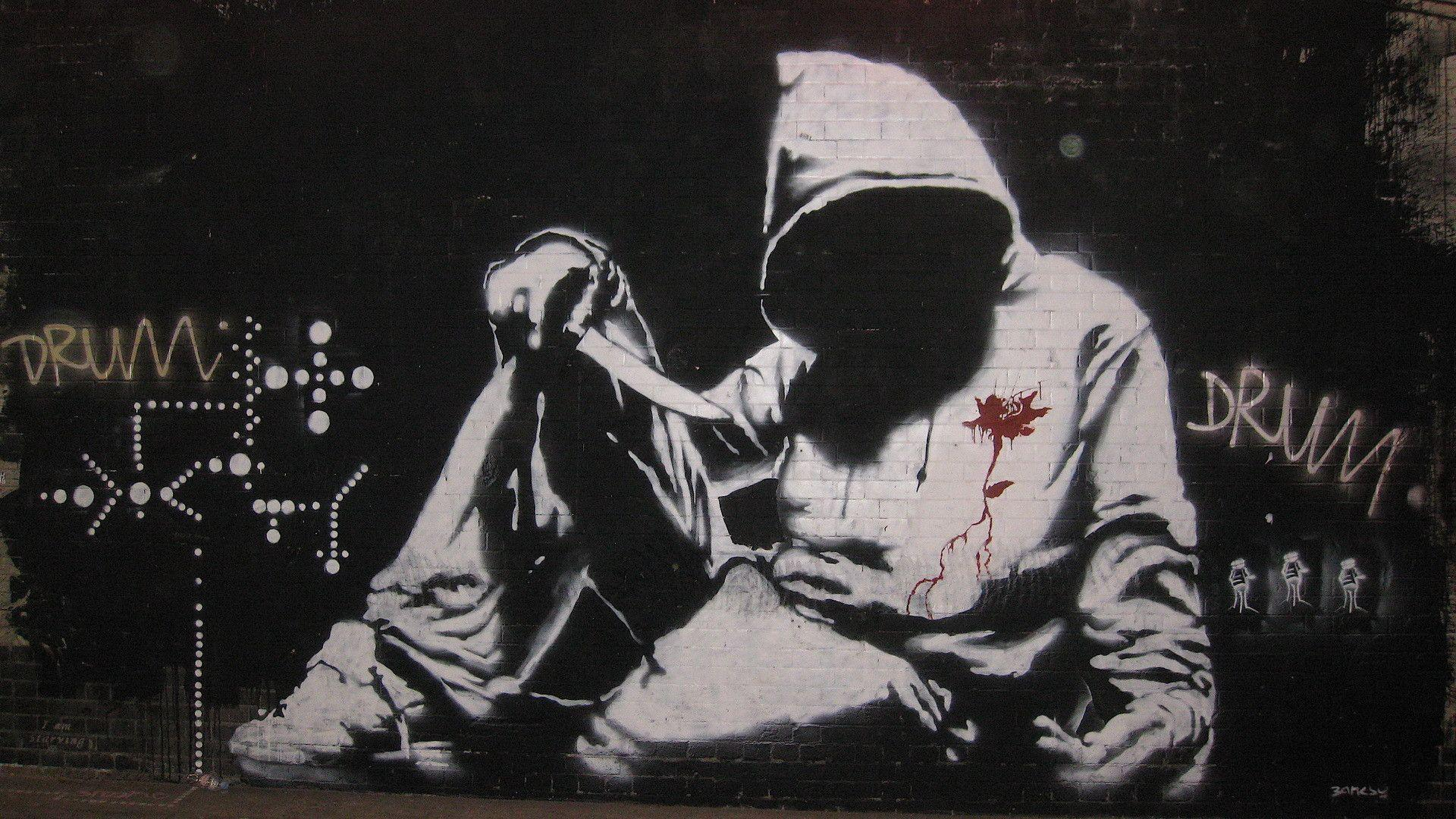 banksy desktop wallpapers wallpaper cave