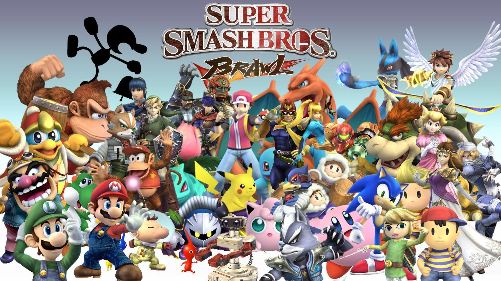Super Smash Bros Wallpapers Widescreen