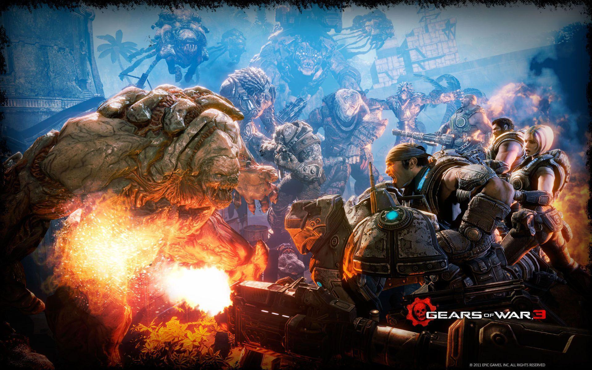 Download Gears of War 3 Battle Wallpapers High Resolution ~ HD