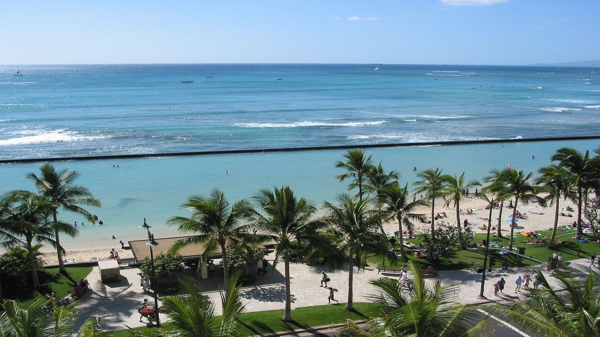 Waikiki Wallpaper: Waikiki Beach Wallpapers
