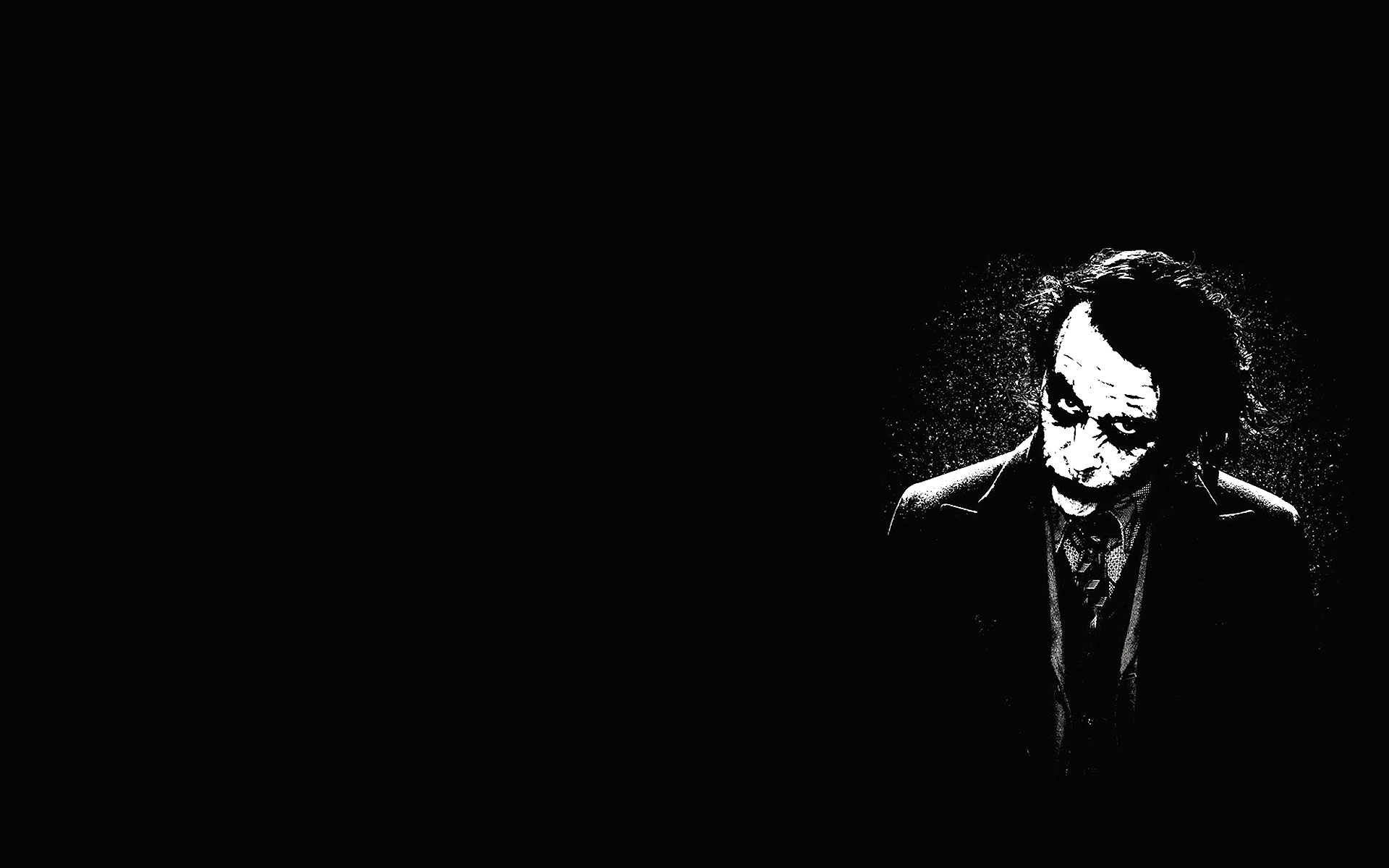 Download Free Black And White Collection 8 Screensaver: Joker HD Wallpapers