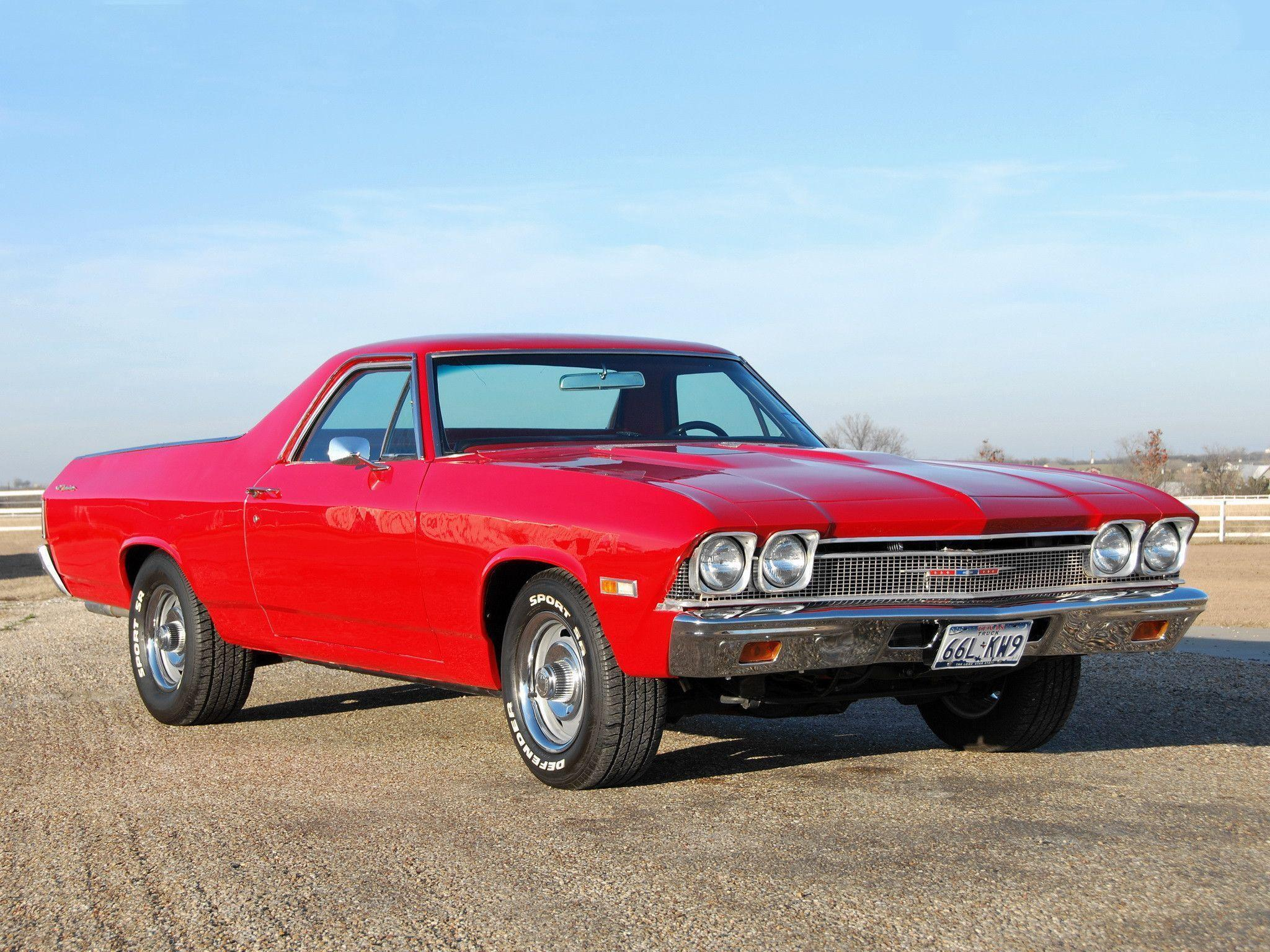 HD 1968 Chevy El Camino Wallpaper | Download Free - 127143