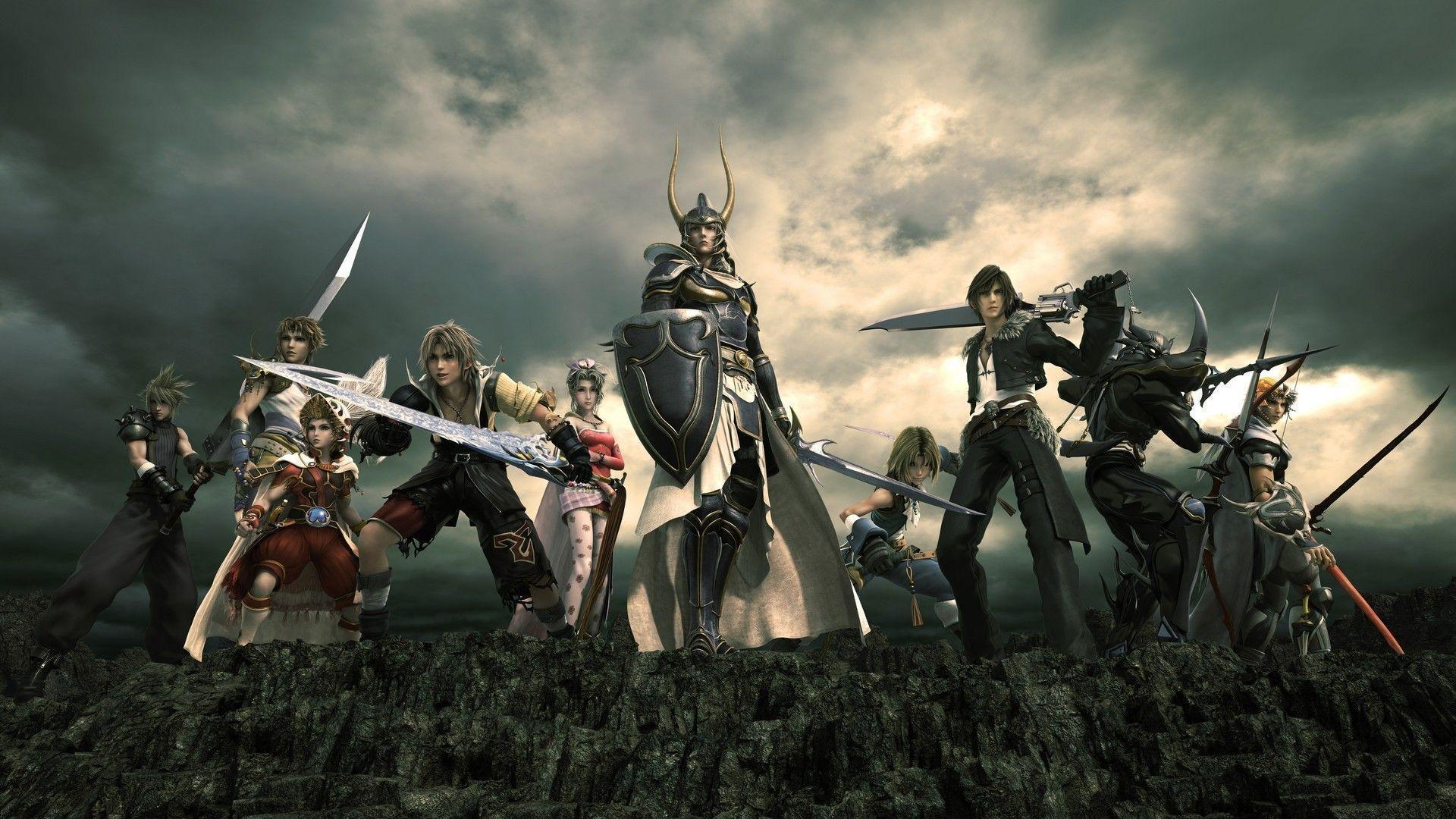Dissidia Final Fantasy Wallpapers #