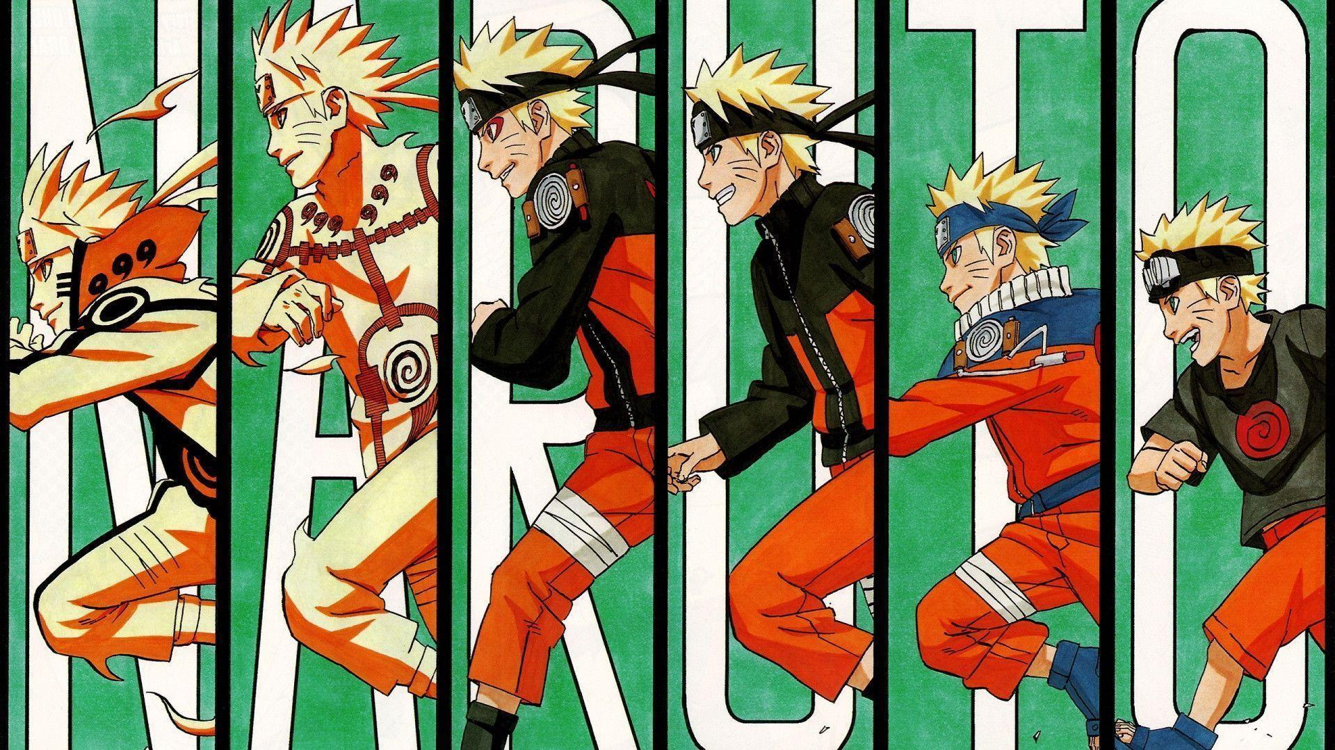 1920x1080 Evolution of naruto Wallpapers