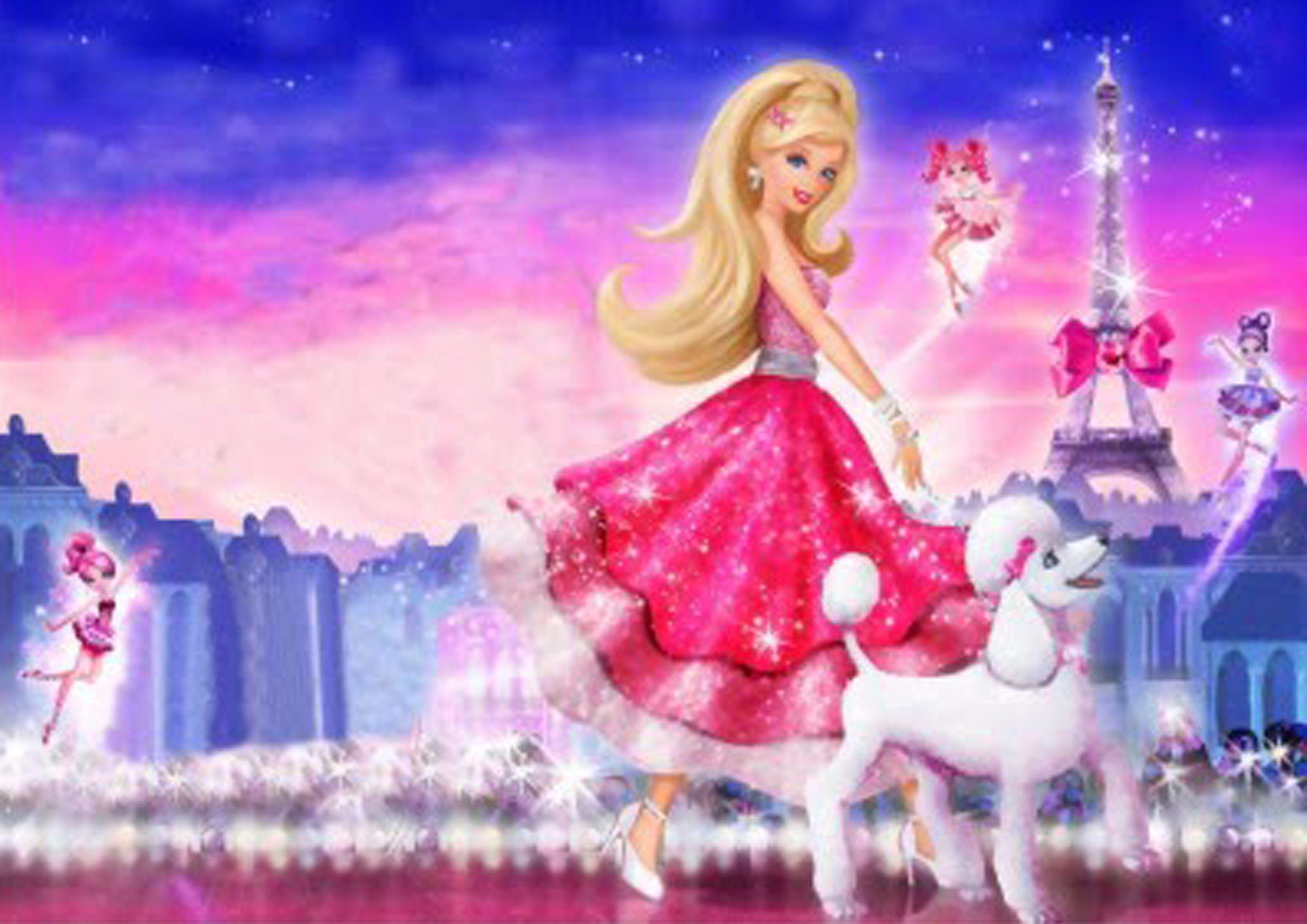 Barbie Doll Cartoon Wallpaper Download