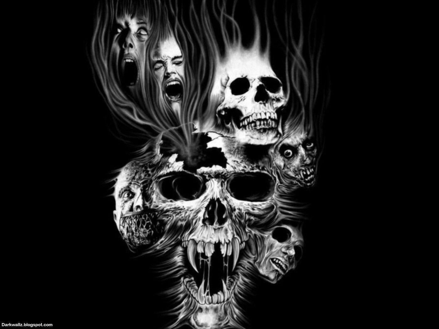 Dark Skull Wallpapers - Wallpaper Cave