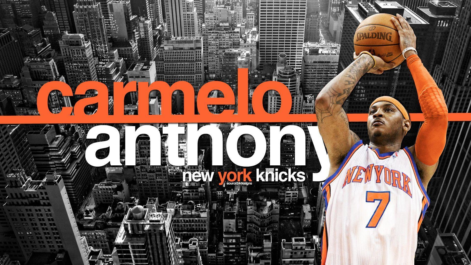 DeviantArt: More Like Melo New York Knicks Wallpapers by Angelmaker666