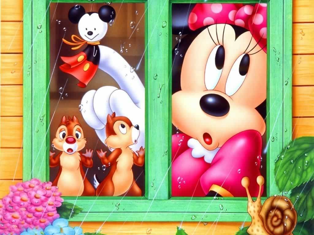 Wallpapers For > Mickey And Minnie Mouse Wallpaper Hd