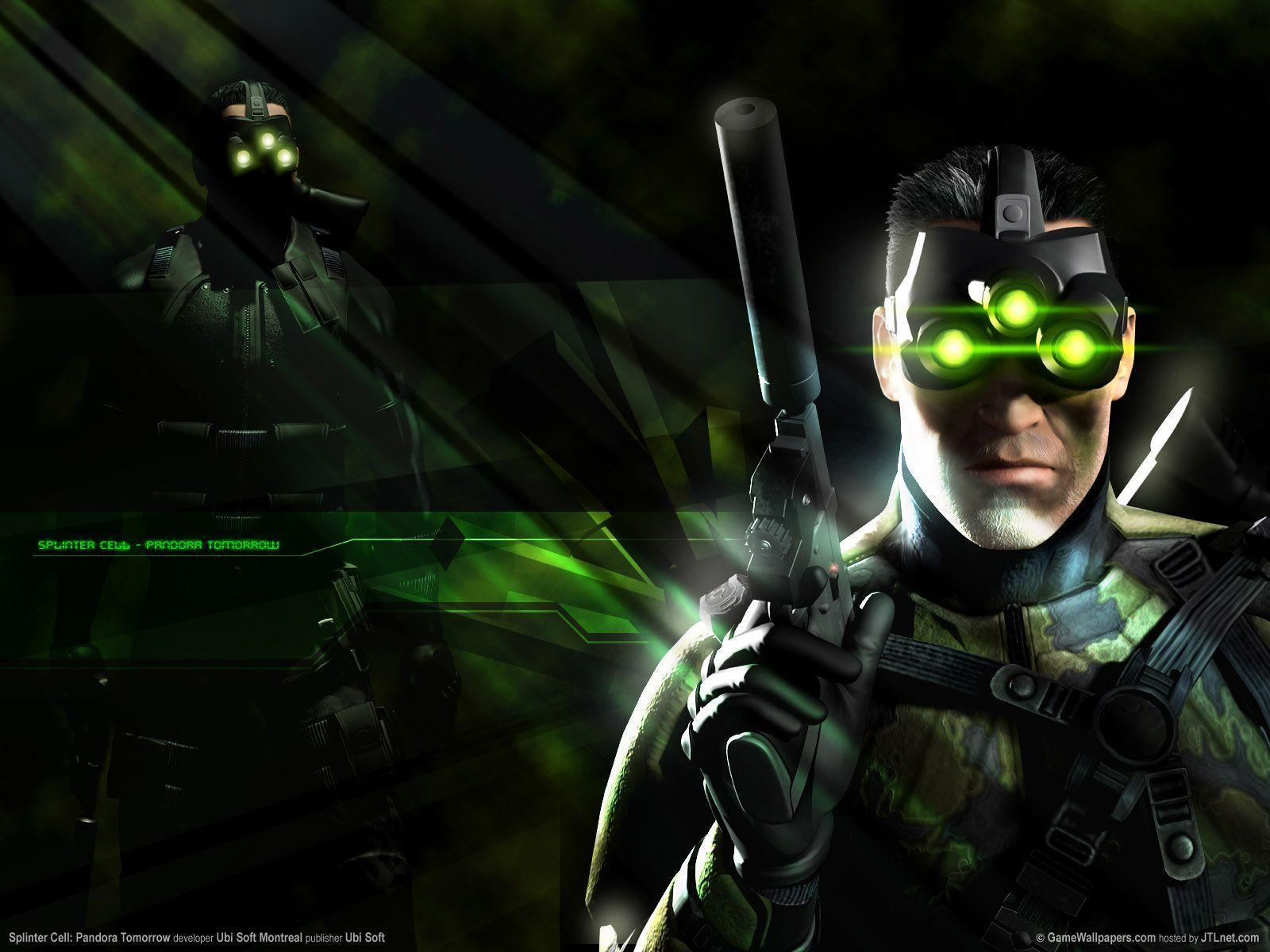 Splinter Cell Chaos Theory Wallpapers Wallpaper Cave