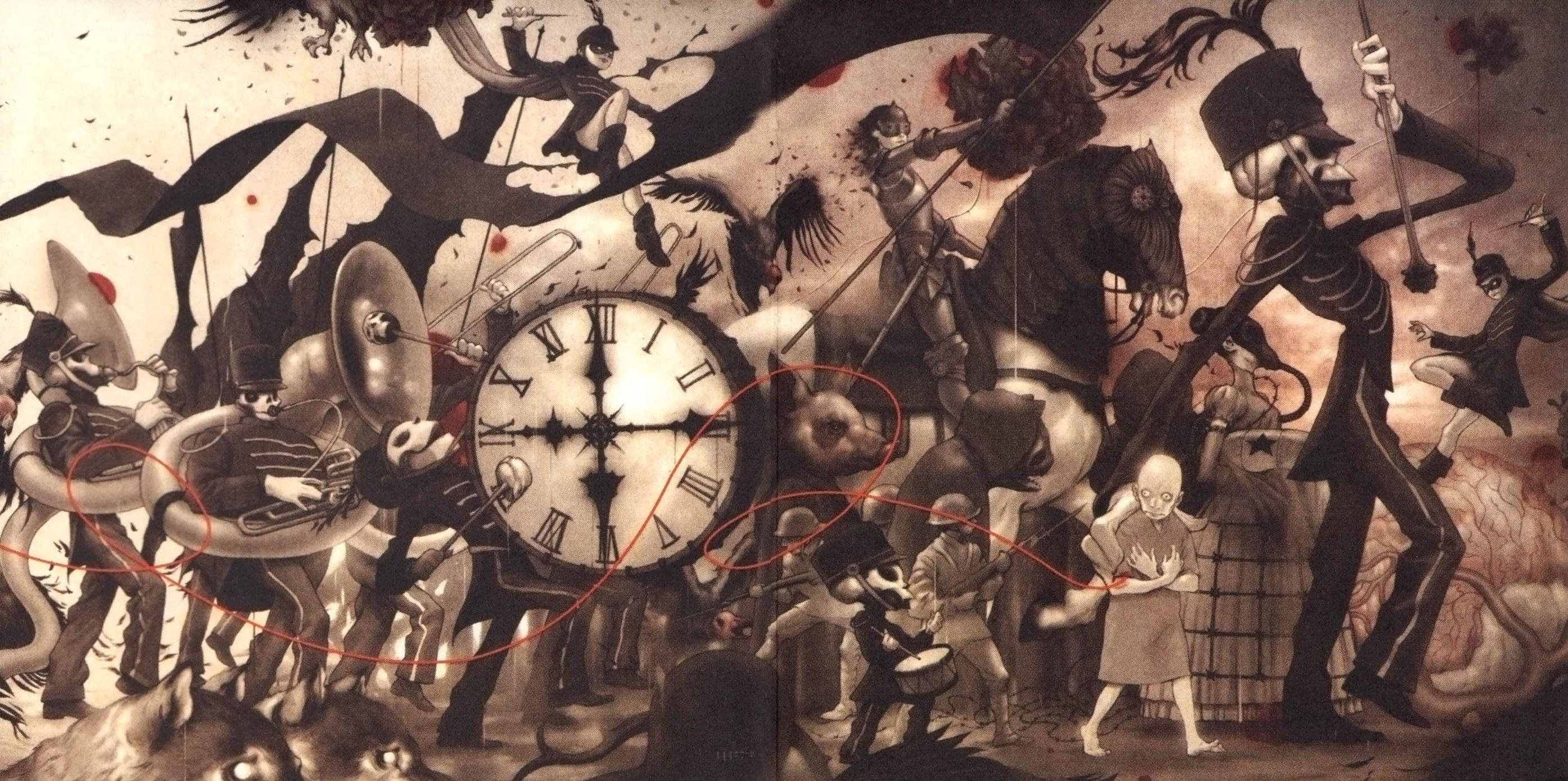 My Chemical Romance The Black Parade Wallpapers And Background