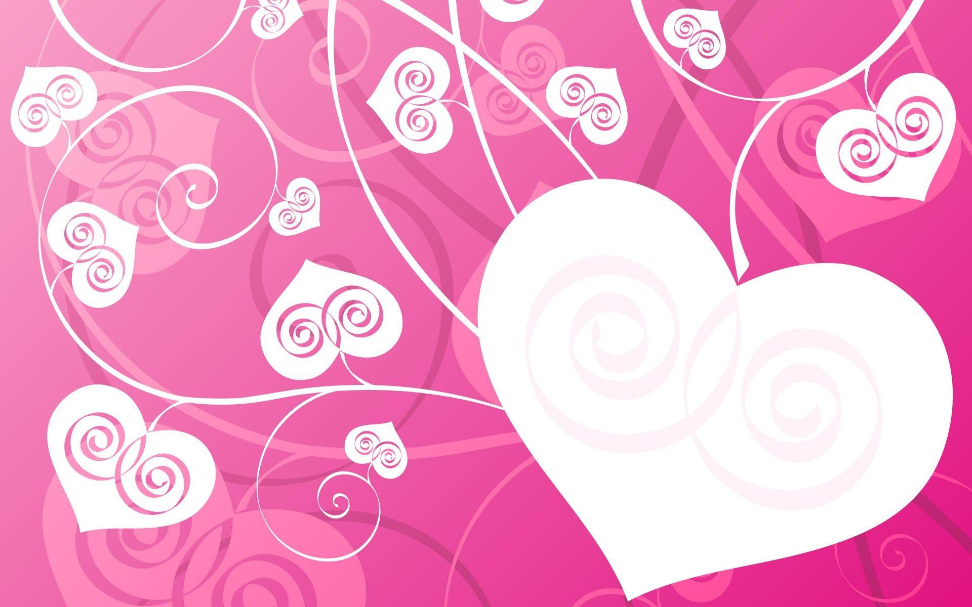 Love Pink Wallpaper Backgrounds : Pink Love Heart Backgrounds - Wallpaper cave