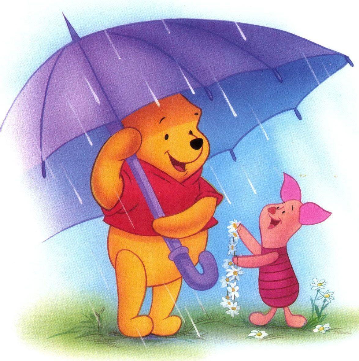Winnie The Pooh Rain: Pooh Bear Wallpapers