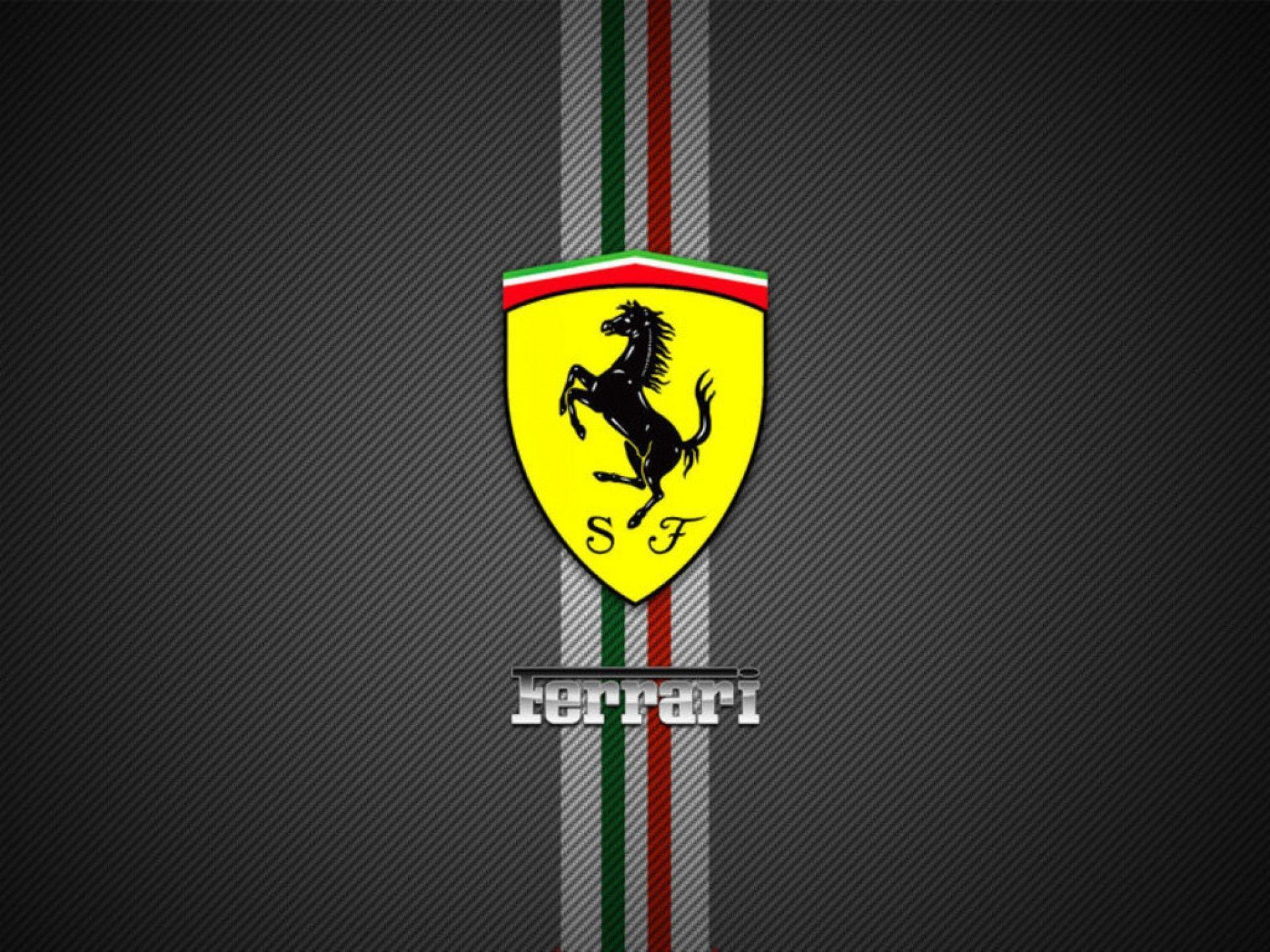 Logos For > Ferrari Logo Wallpaper 1920x1080