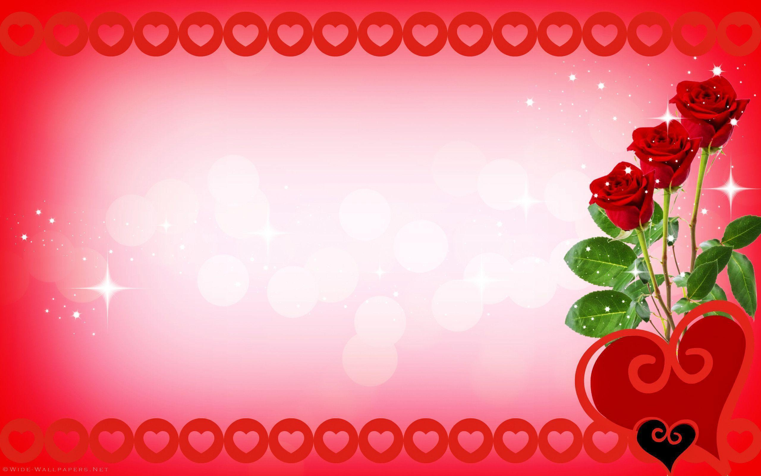 Red roses and hearts wallpapers wallpaper cave - Pink roses and hearts wallpaper ...