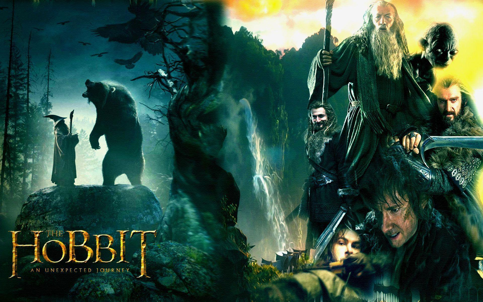 The Hobbit An Unexpected Journey Hd Desktop Wallpaper fantasy