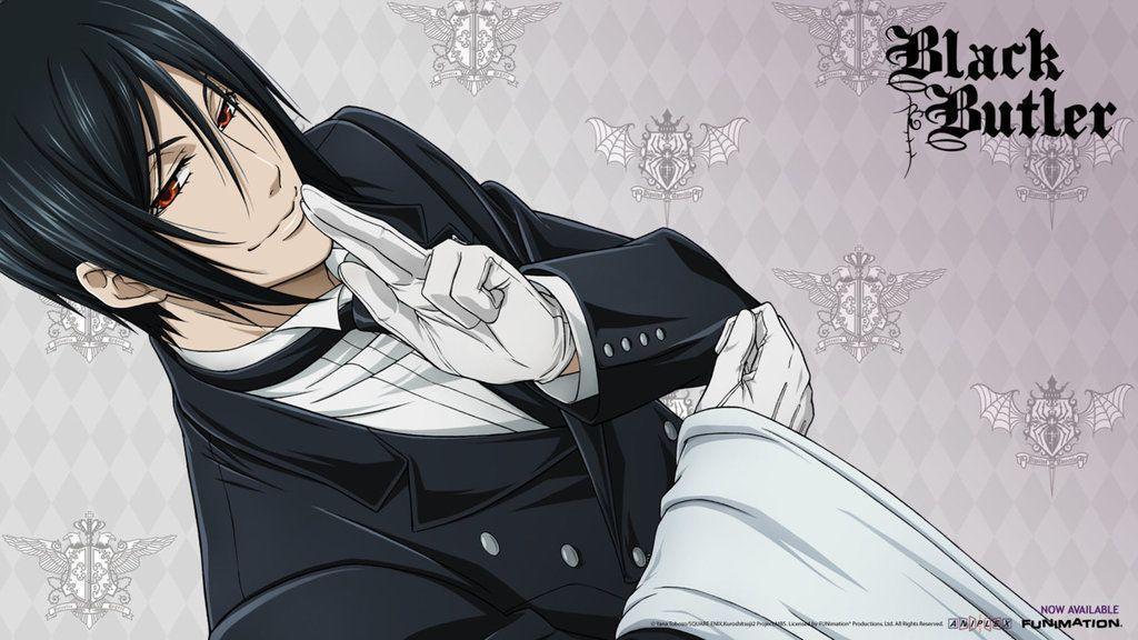 Pix For > Black Butler Sebastian Wallpaper