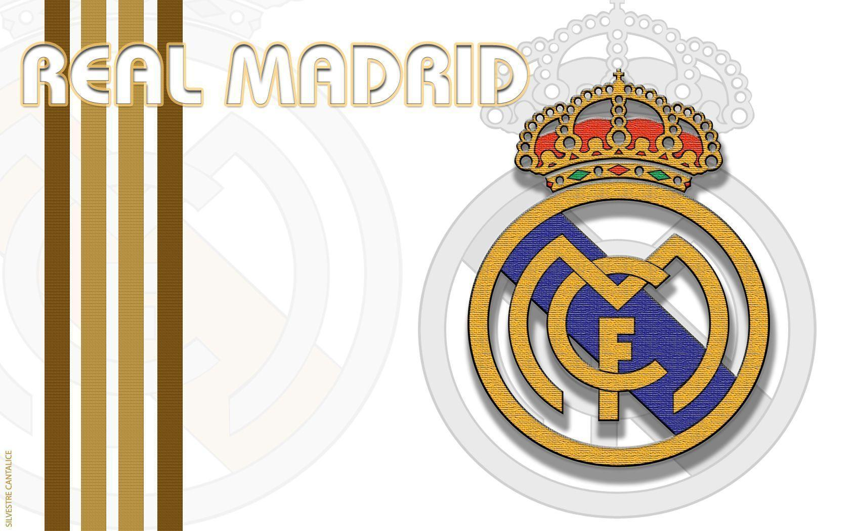 Real Madrid Logo Wide Wallpapers Wallpapers computer