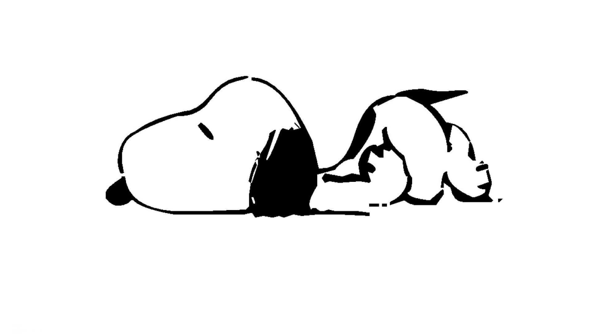 Tired Snoopy - Get Wallpapers HD