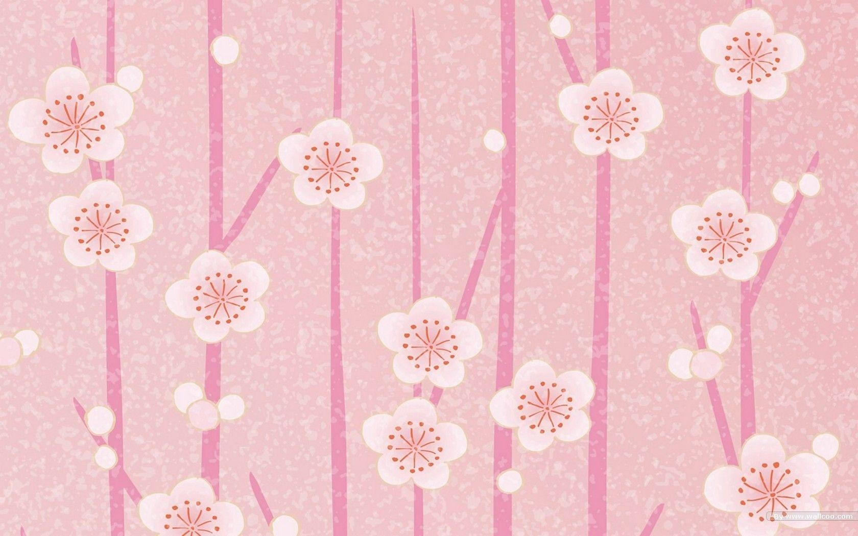 light pink flower wallpaper - photo #40