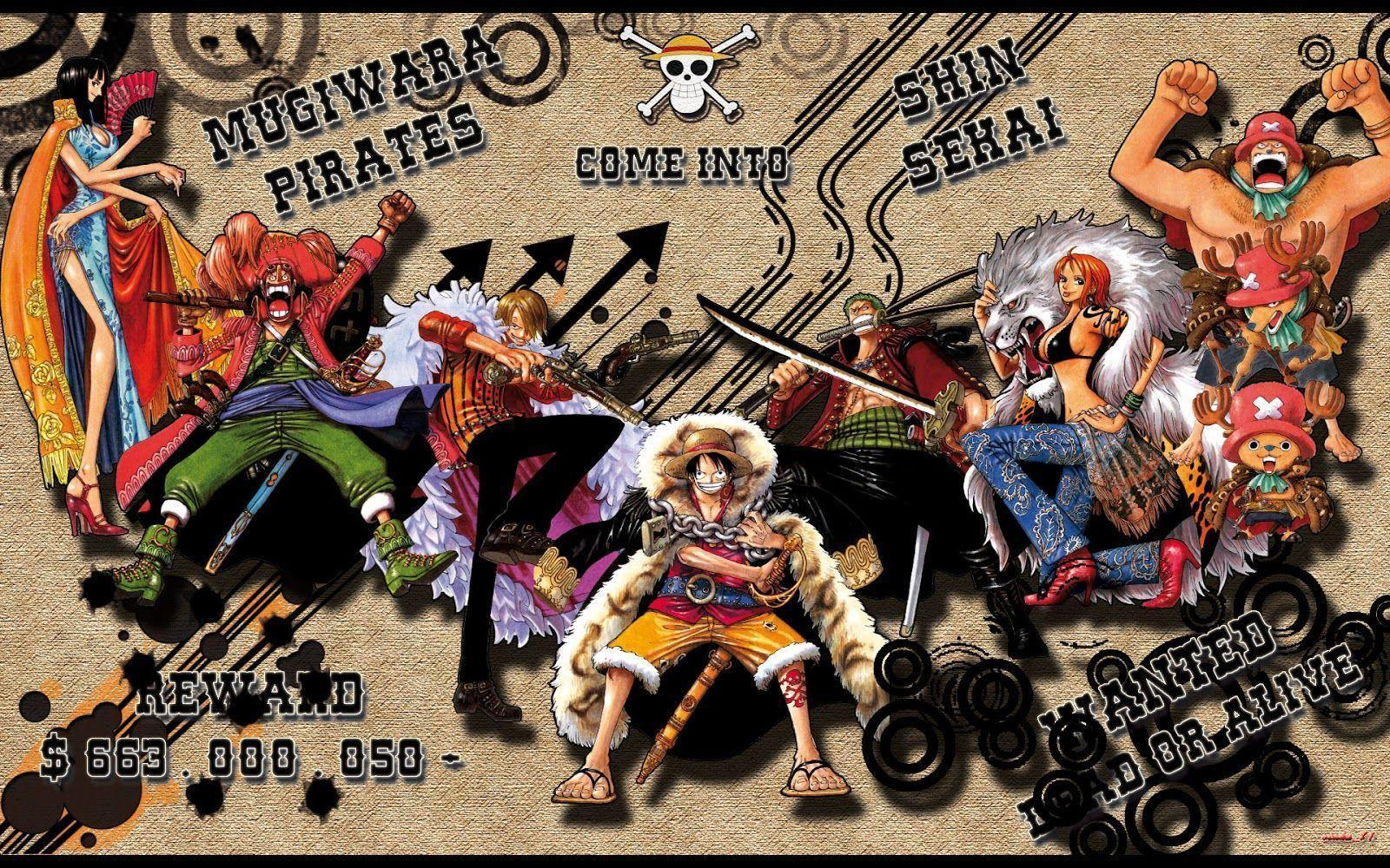 One Piece New World Wallpapers - Wallpaper Cave