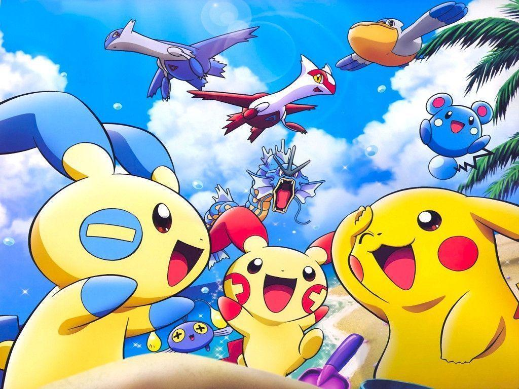 Wallpapers For > Cute Pokemon Wallpapers Pikachu