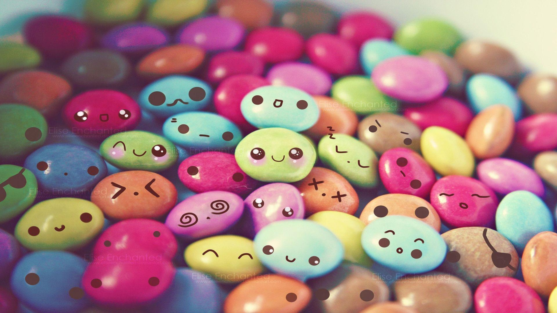 cute candy wallpapers wallpaper cave