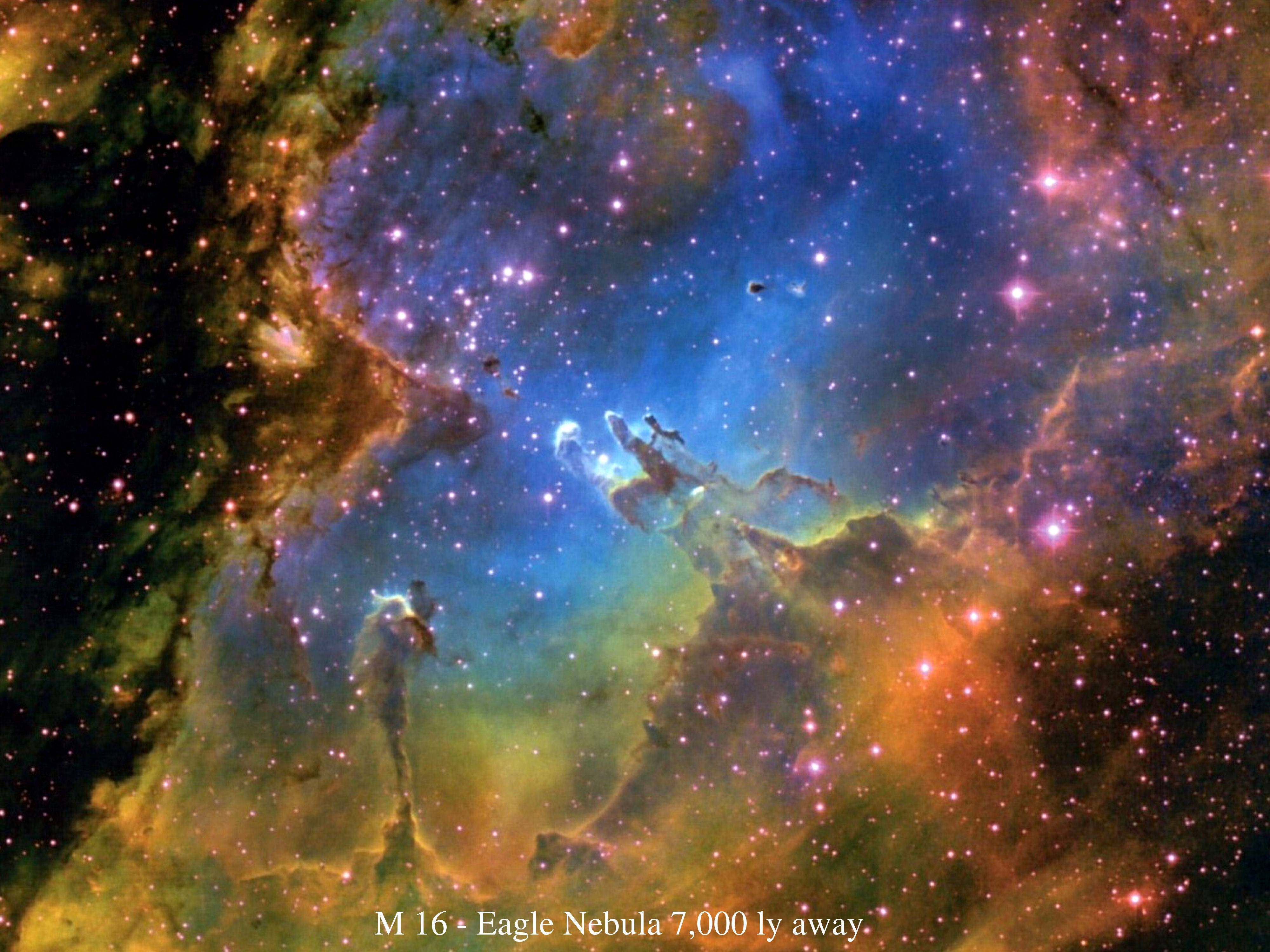 Eagle Nebula Wallpapers - Wallpaper Cave
