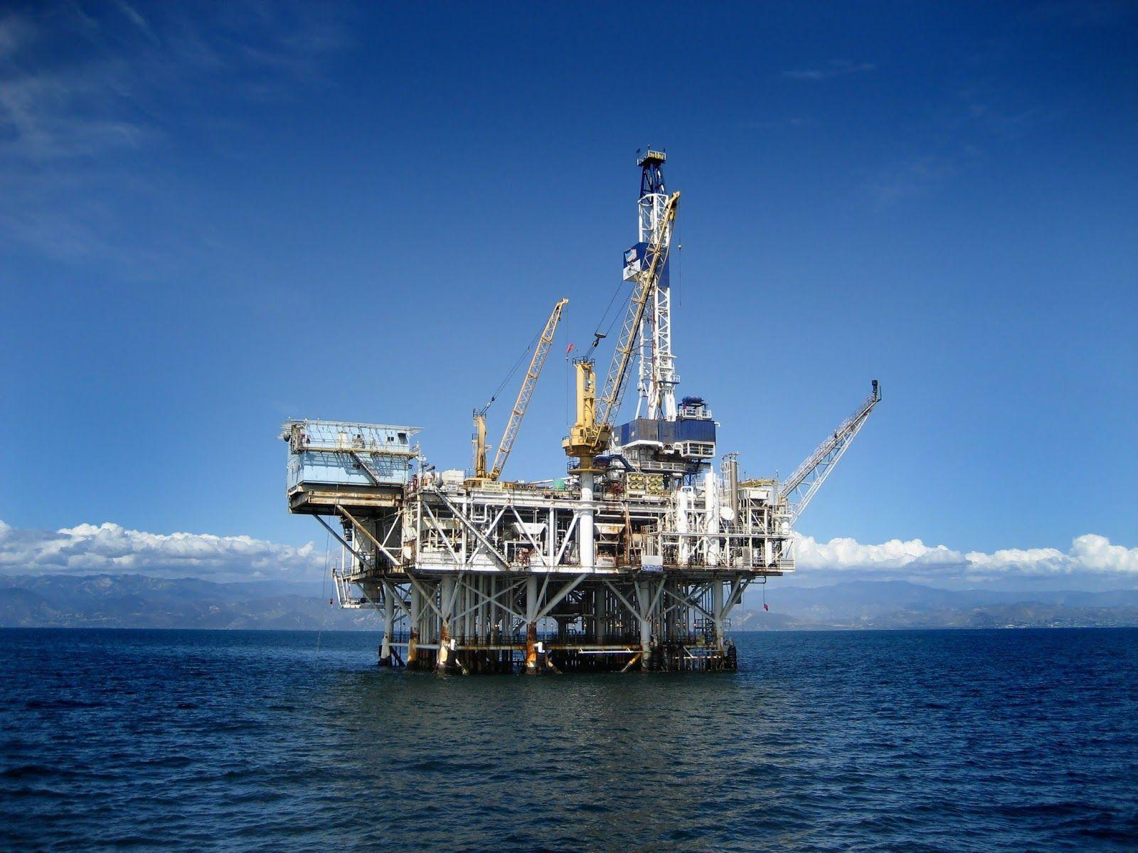 Offshore Oil Rig : Oil rig wallpapers wallpaper cave
