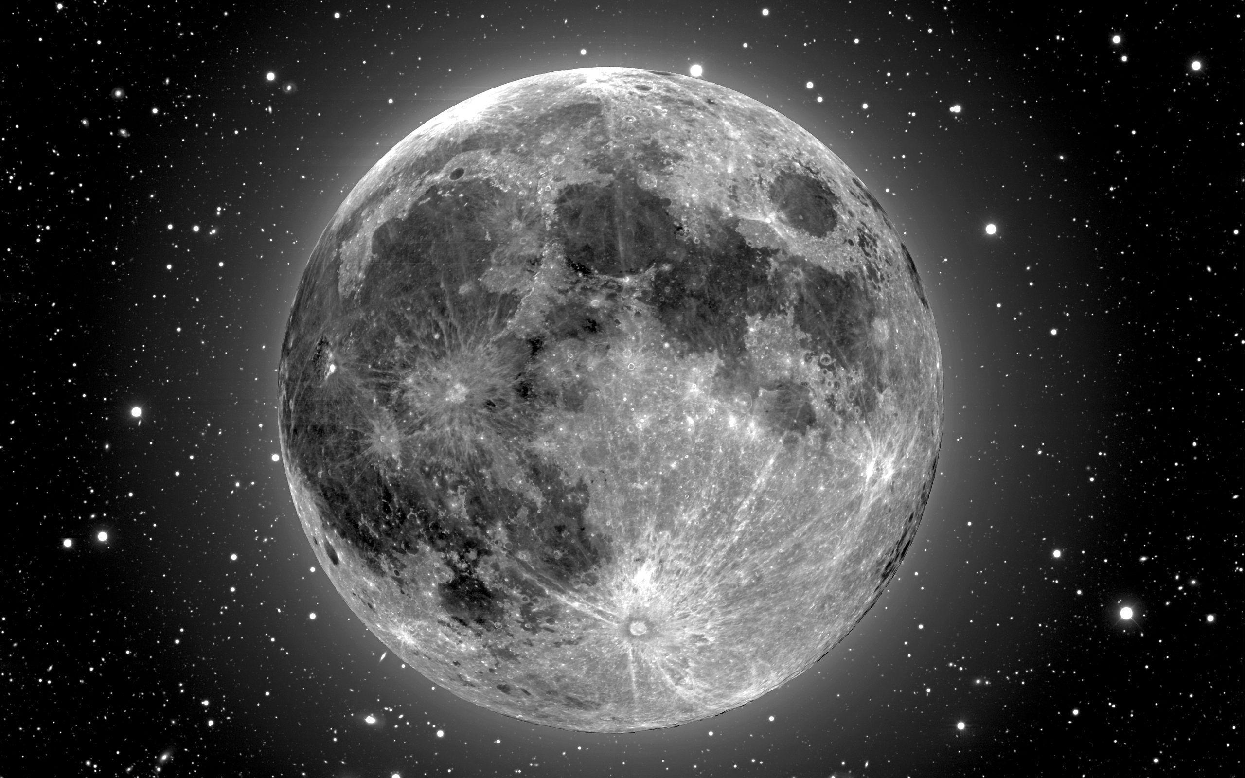 Black Moon Wallpaper Desktop