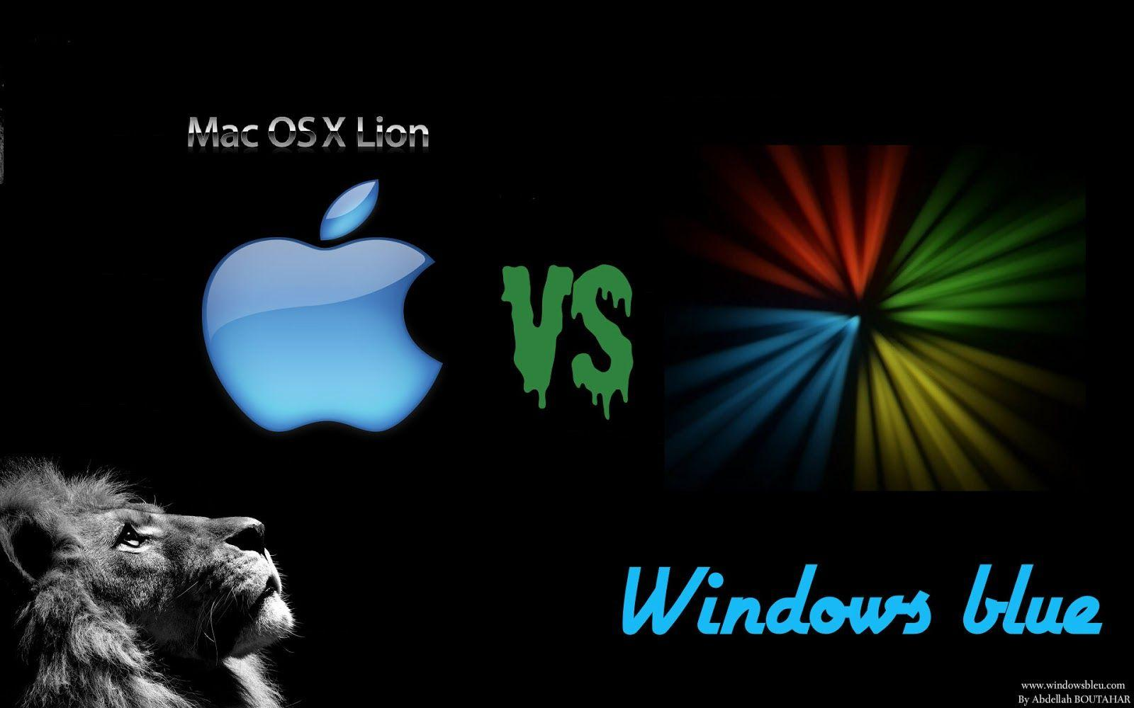 Pix For > Apple Vs Windows Wallpapers