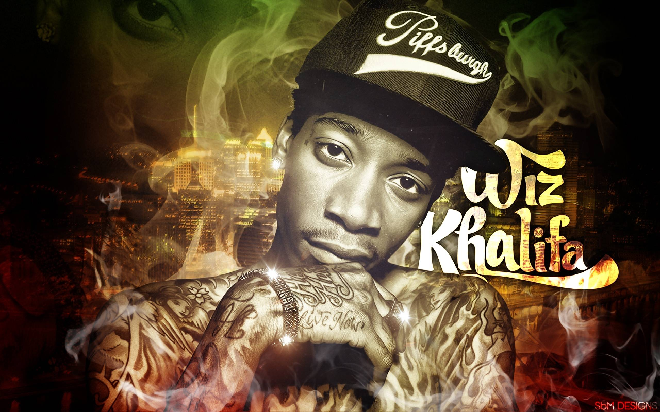 Wiz Khalifa Backgrounds - Wallpaper Cave