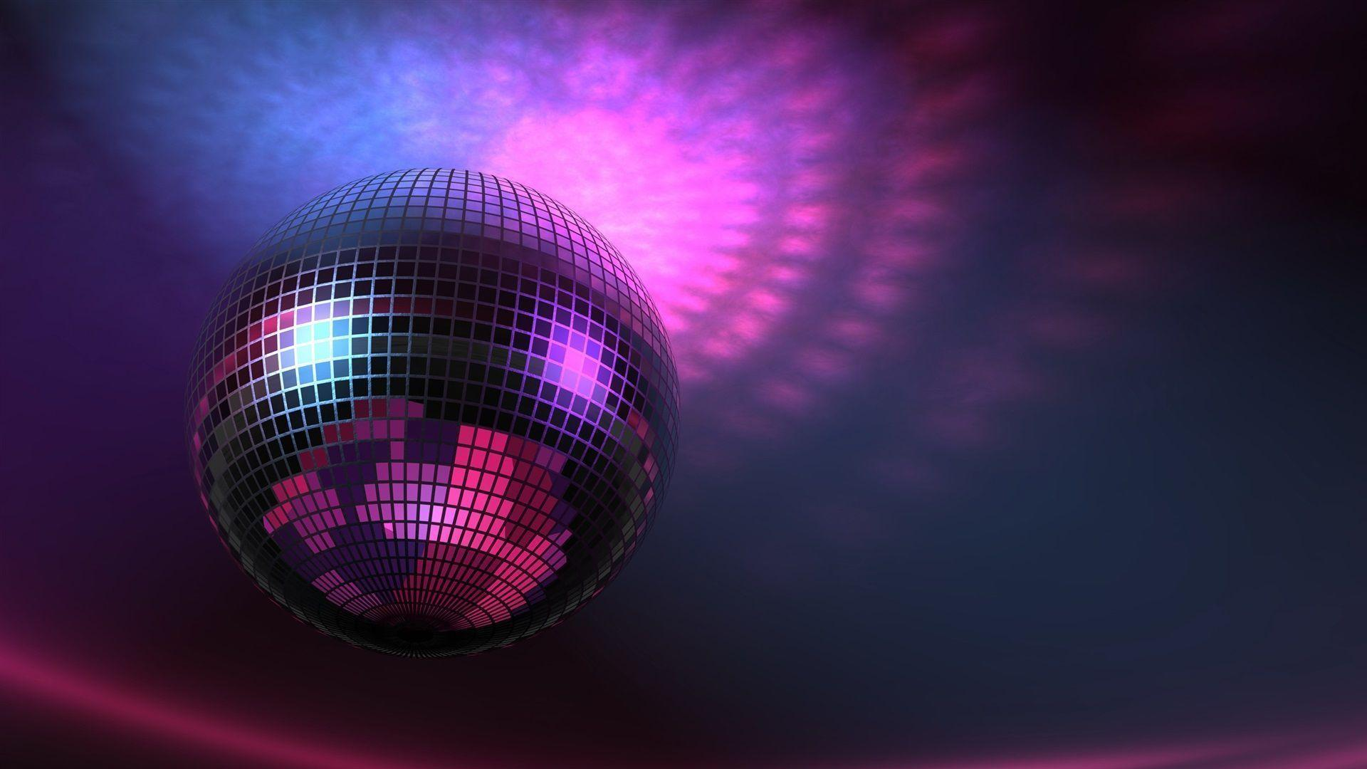 Wallpapers For > Disco Ball Backgrounds Purple
