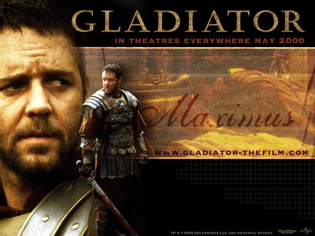 Gladiator Film Movie Logo Wallpaper - MoviesWalls